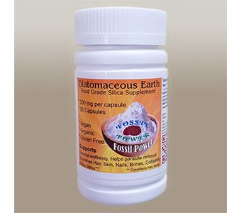 Buy 90 Diatomaceous Earth Capsules